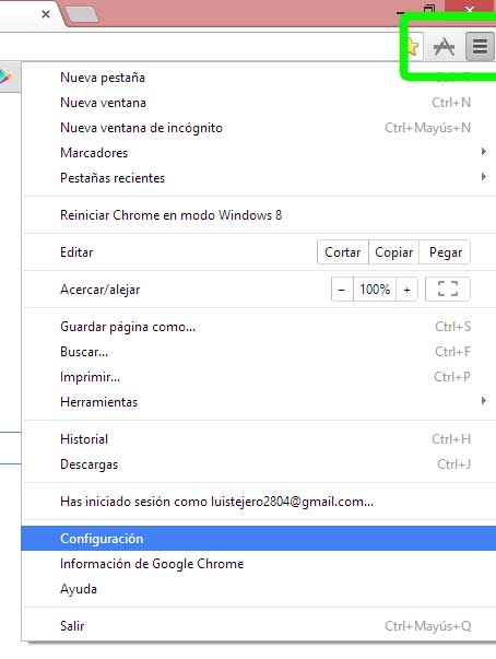 Acelerar google chrome al 100%