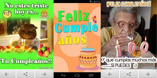 Felicitaciones de Cumpleaños para Android