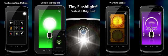 Descargar e Instalar Linterna Tiny Flashlight