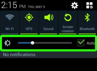 Brillo de Pantalla Android