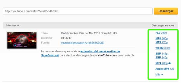 Cómo descargar un video de youtube