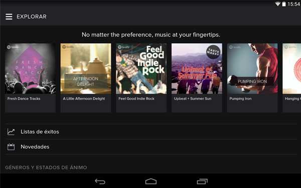 Spotify-para-Android
