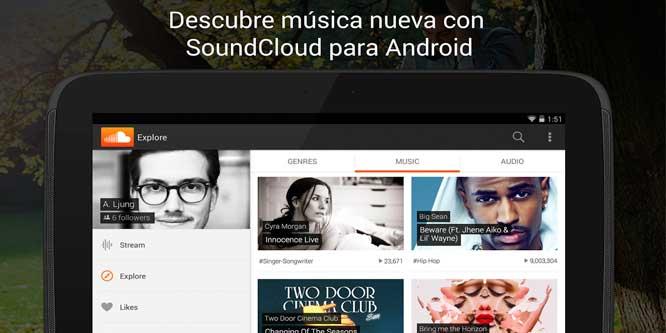 Soundcloud-para-Android