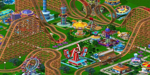 Descargar-Roller-Coaster-Tycoon-4