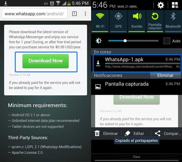 Como-actualizar-whatsapp-a-material-design