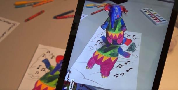 Disney-diseña-una-App-para-dar-vida-coloreando-en-3d-3